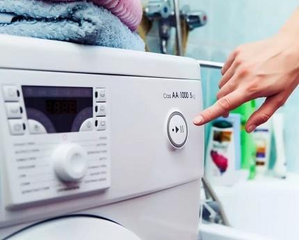 Выбор программы для работы стиралки