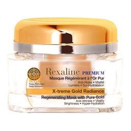 Line Killer Premium Восстанавливающая омолаживающая маска для лица с частицами золота