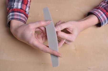 Шлифовка ногтевых пластин