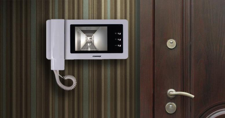 Видеодомофон для квартиры корейской фирмы Commax