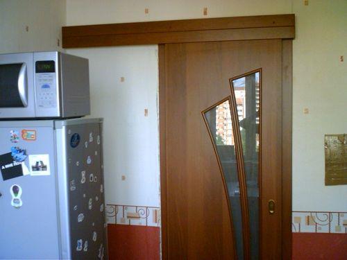 Выбираем дверь на кухню