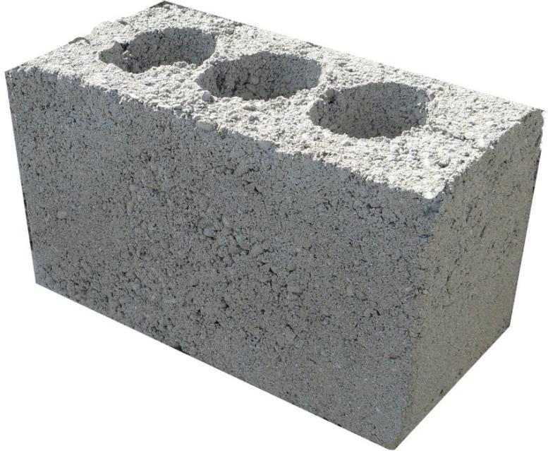 Пустотелый шлакоблок идеально подходит для строительства стен и перегородок