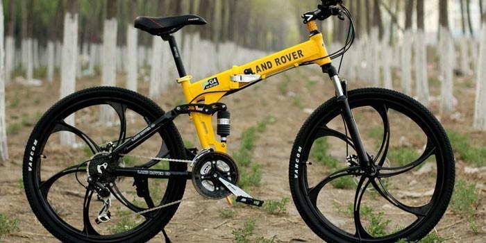 Велосипед для езды по горной местности
