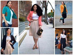 Выбор одежды для женщин с формой фигуры треугольник