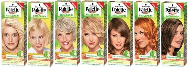 Палет блондирование