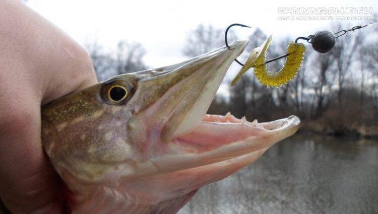 Рыбалка на офсетный крючок