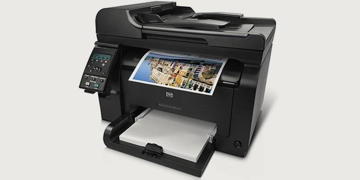 Лазерный принтер-сканер-копир HP LaserJet Pro