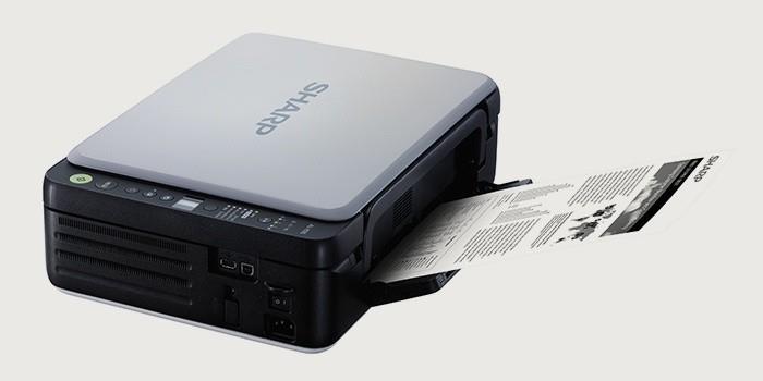 Принтер-сканер-копир для дома Sharp AL1035WH
