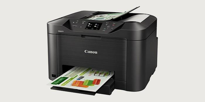 Струйный цветной принтер-сканер-копир