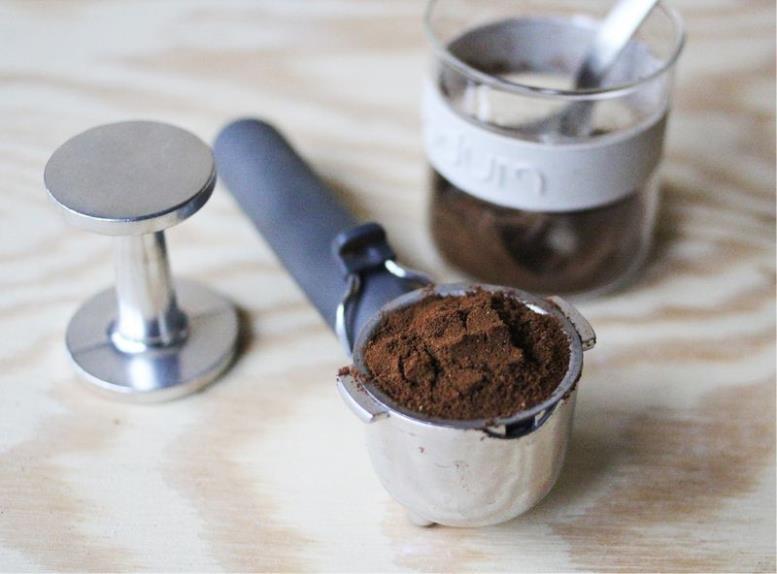 Молотый кофе в рожке