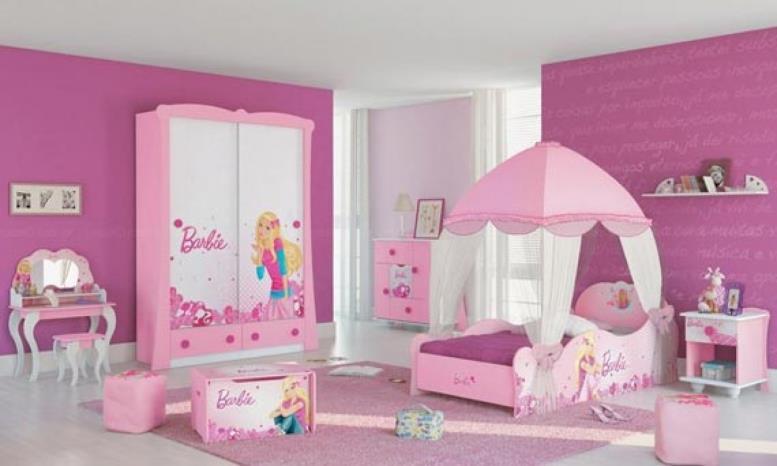 комната в стиле барби для детской