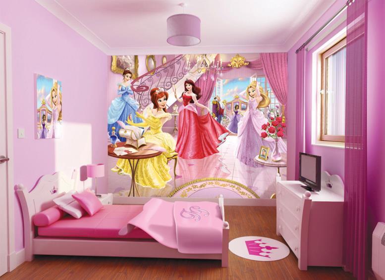 комната в стиле барби