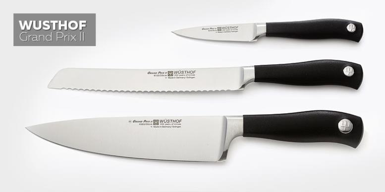 WUSTHOF - Grand Prix II - немецкие кухонные ножи
