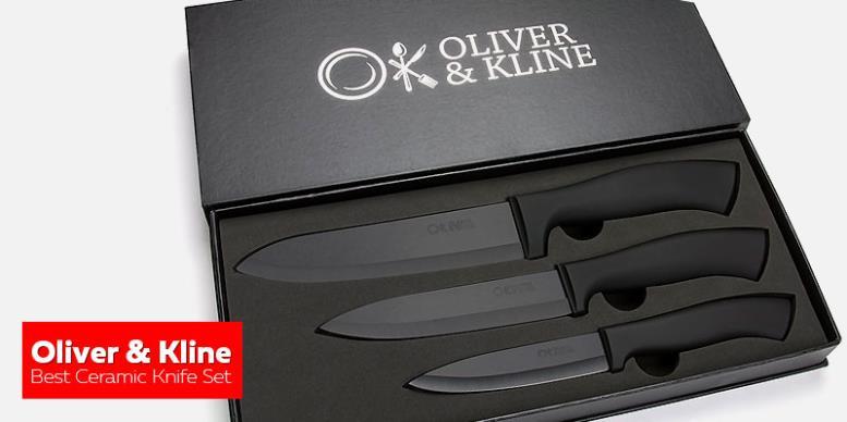 Oliver & Kline Best Ceramic Knife Set - лучшие керамические кухонные ножи