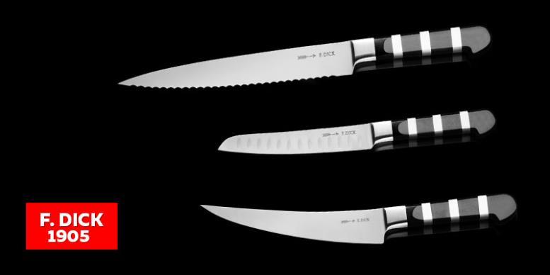 F. DICK 1905 - металлические немецкие кухонные ножи