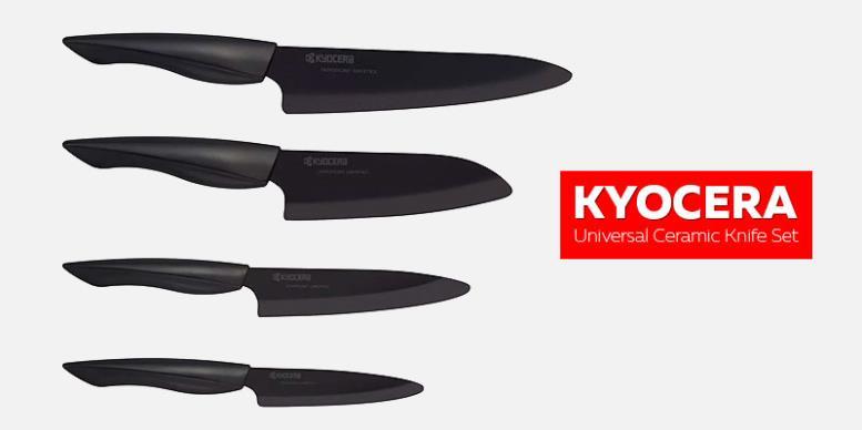 Kyocera Universal CeramicKnife Set - универсальные керамические кухонные ножи
