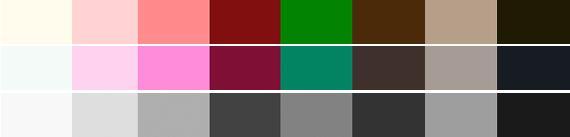 Нейтральные по температуре цвета
