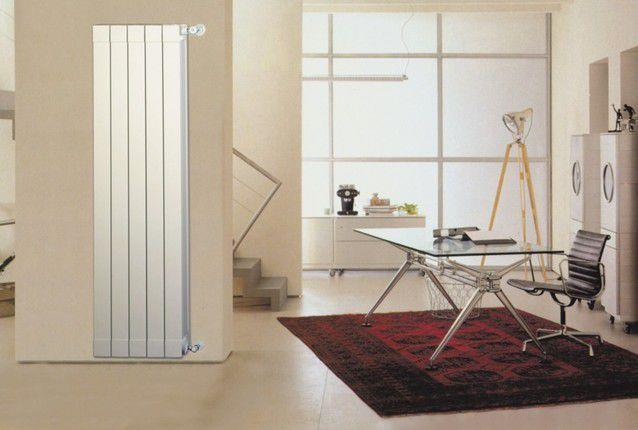 Алюминиевая батарея может стать элементом дизайна в квартире