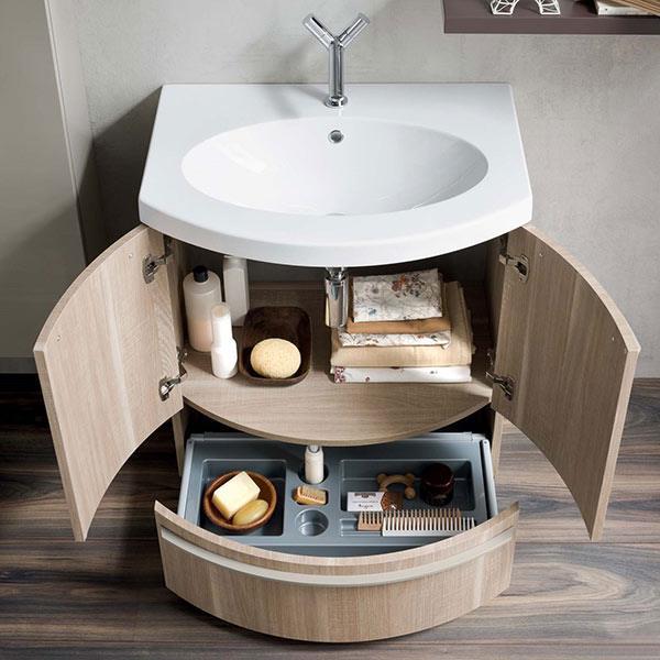Мебель для ванной комнаты с раковиной