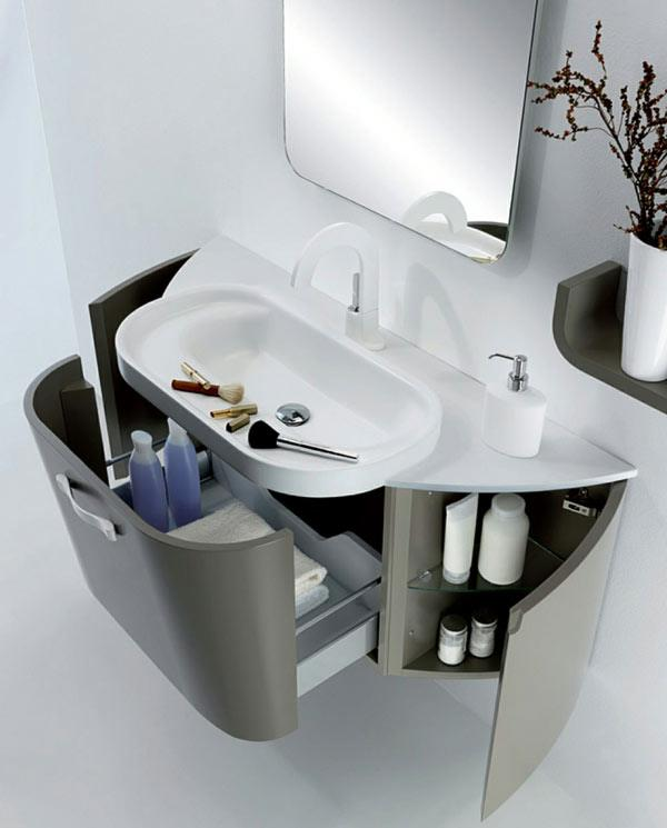 Мебель для ванной комнаты шкафы