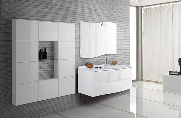 Мебель для ванной комнаты: обращайте внимание на детали