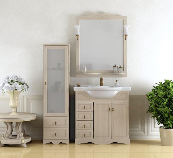 Мебель для ванной российских производителей