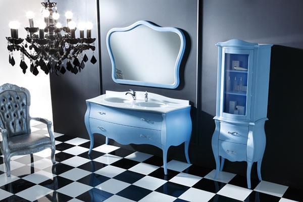 Мебель для ванной производства Италия в стиле ретро