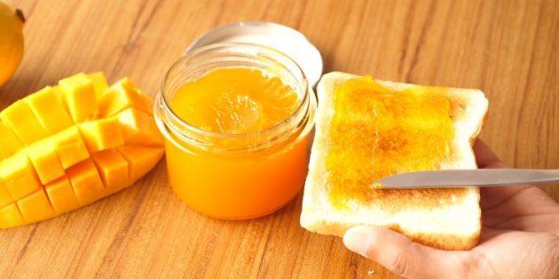 Как есть манго: Джем из манго