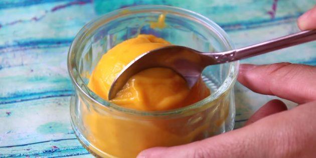 Как есть манго: Сорбет из манго
