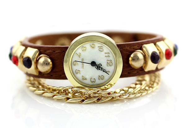 Женские часы с ювелирным браслетом