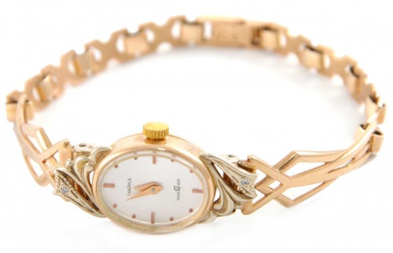 Часы из золота для женщин
