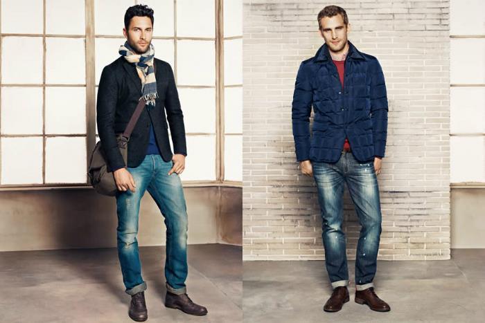 Размеры мужских джинсов: соответствие