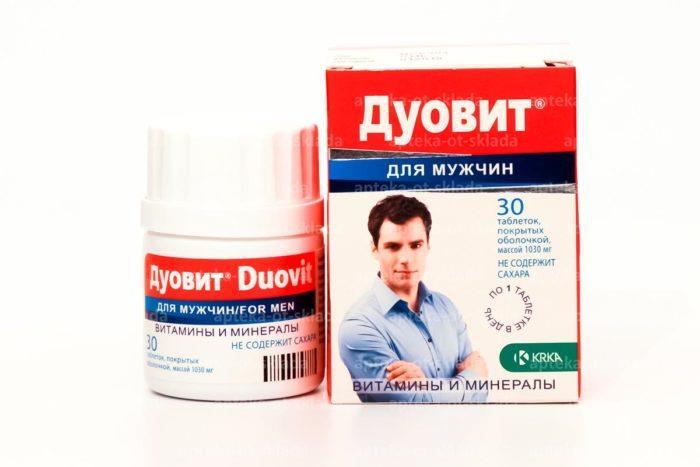 Мужские комплексные витамины Дуовит