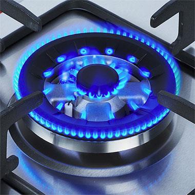Плиты, обладающие электроподжигом необходимо подключать к сети