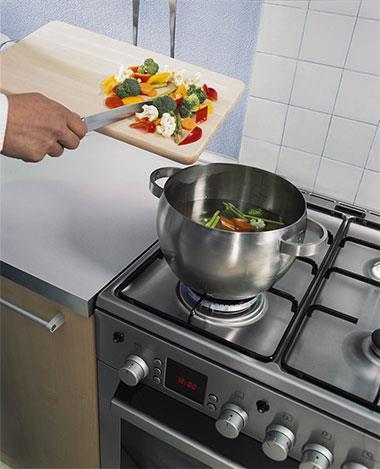 На сегодняшний день газовые плиты являются самыми распространенными