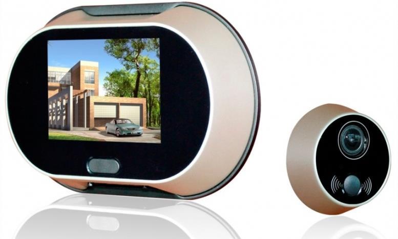 Более современные видеоглазки используют Wi-Fi и GSM для передачи данных