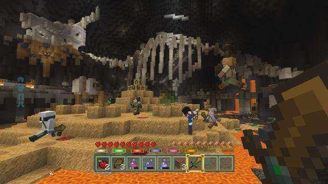 Minecraft Battle Mini Game Map - Lair