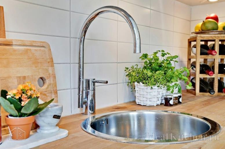 Как выбрать удобную мойку для кухни с круглой чашей