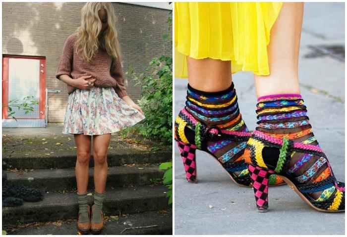 Носки в тон обуви