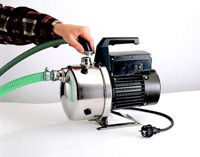 Применение эжектора позволяет увеличивать напор насоса