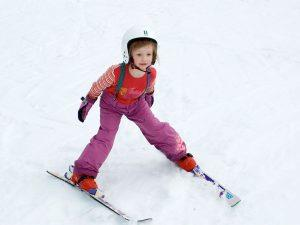 польза катания на горных лыжах