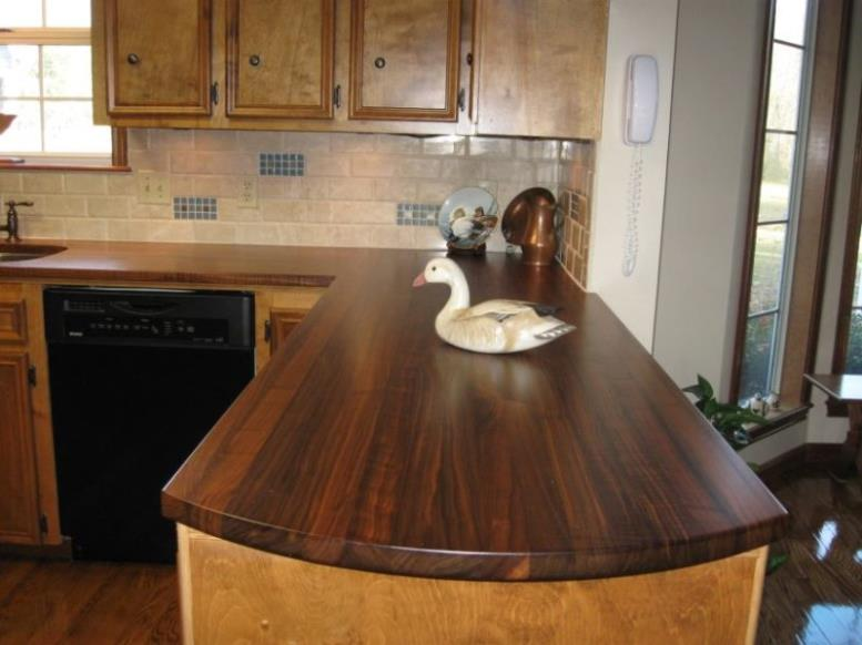 furniture-kitchen-l-shaped-brown-wooden-kitchen-cabinet-using-glossy-wooden-countertop-and-brown-ceramic-tiled-backsplash-as-well-as-kitchen-counter-tops-plus-slate-countertops-remarkable-unfinished