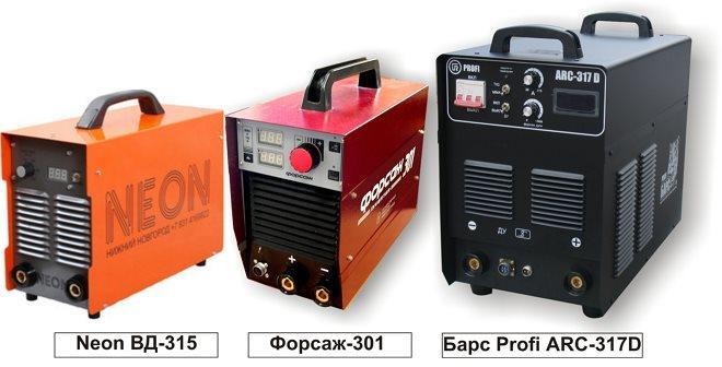 Еще несколько моделей, представленных на российском рынке