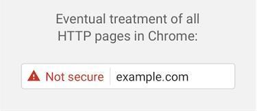 Сайты без SSL в Chrome