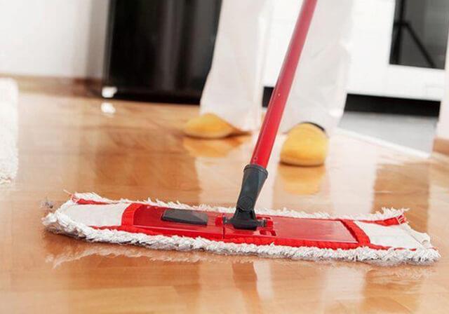 чистка линолеума в домашних условиях