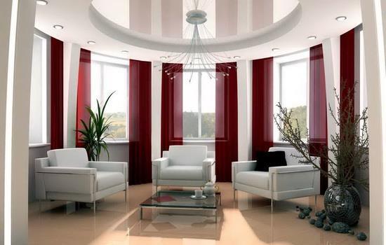 Красивые окна в интерьере дома