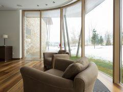 Панорамное остекление дома. Особенности, преимущества, стоимость работ