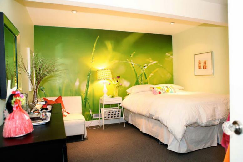 interior-bedroom-cool-wallpapers-for-bedroom-a-teenage-girls-with-the-theme-of-green-meadows-and-beautiful-night-lamp-beside-white-bed-as-well-as-designs-for-walls-plus-modern-wallpaper-designs-for-b