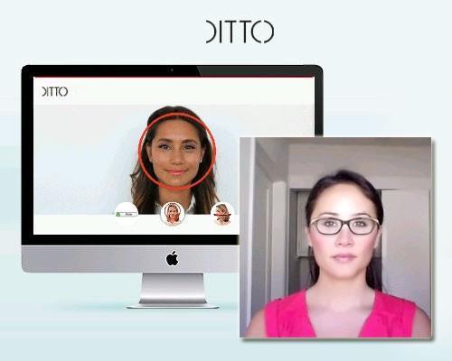 Ditto - подбор очков онлайн по фотографии бесплатно