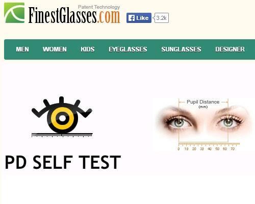PD Self Test - подбор очков онлайн по фотографии бесплатно